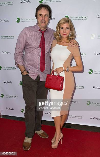 Actor Kevin Nealon and wife/actress Susan Yeagley attend 'The Conscientious Table' event at Crossroads Kitchen on September 29 2014 in Los Angeles...