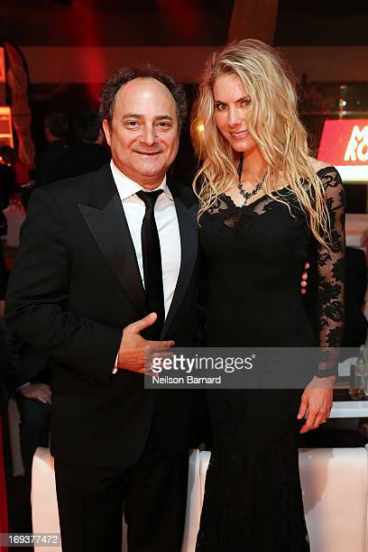 Actor Kevin Pollak and producer Kelly Greyson attend the official after party for 'Max Rose' at The 66th Annual Cannes Film Festival at Torch at...