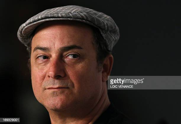 US actor Kevin Pollak attends on May 23 2013 a press confrence for the film 'Max Rose' presented Out of Competition at the 66th edition of the Cannes...