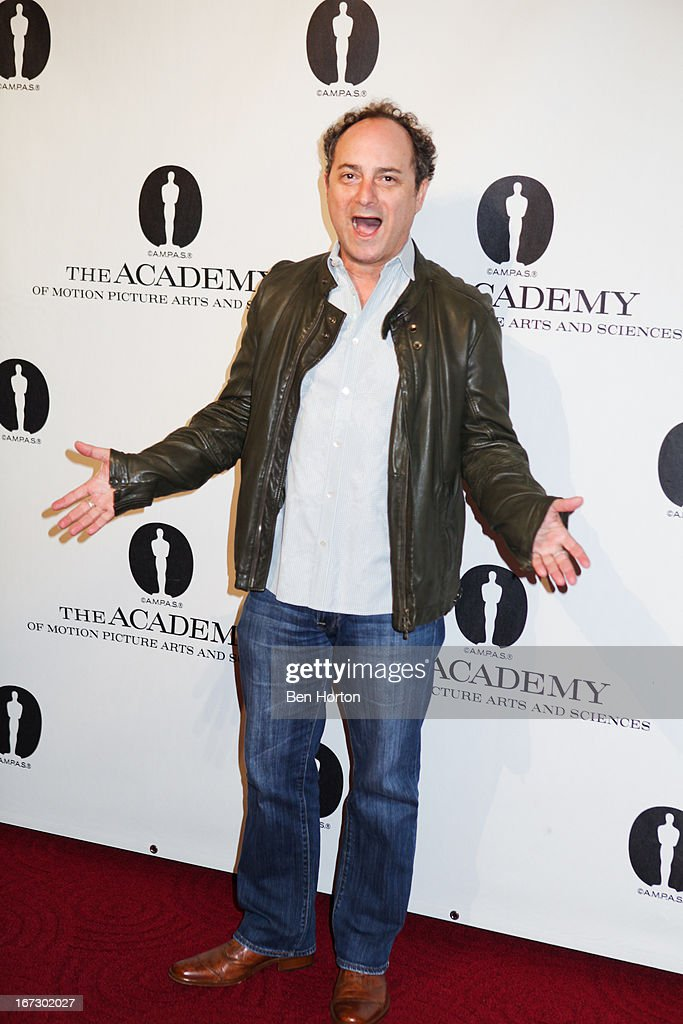 Actor <a gi-track='captionPersonalityLinkClicked' href=/galleries/search?phrase=Kevin+Pollak+-+Acteur&family=editorial&specificpeople=233482 ng-click='$event.stopPropagation()'>Kevin Pollak</a> attends the Academy Of Motion Picture Arts And Sciences Hosts A 'Wayne's World' Reunion at AMPAS Samuel Goldwyn Theater on April 23, 2013 in Beverly Hills, California.