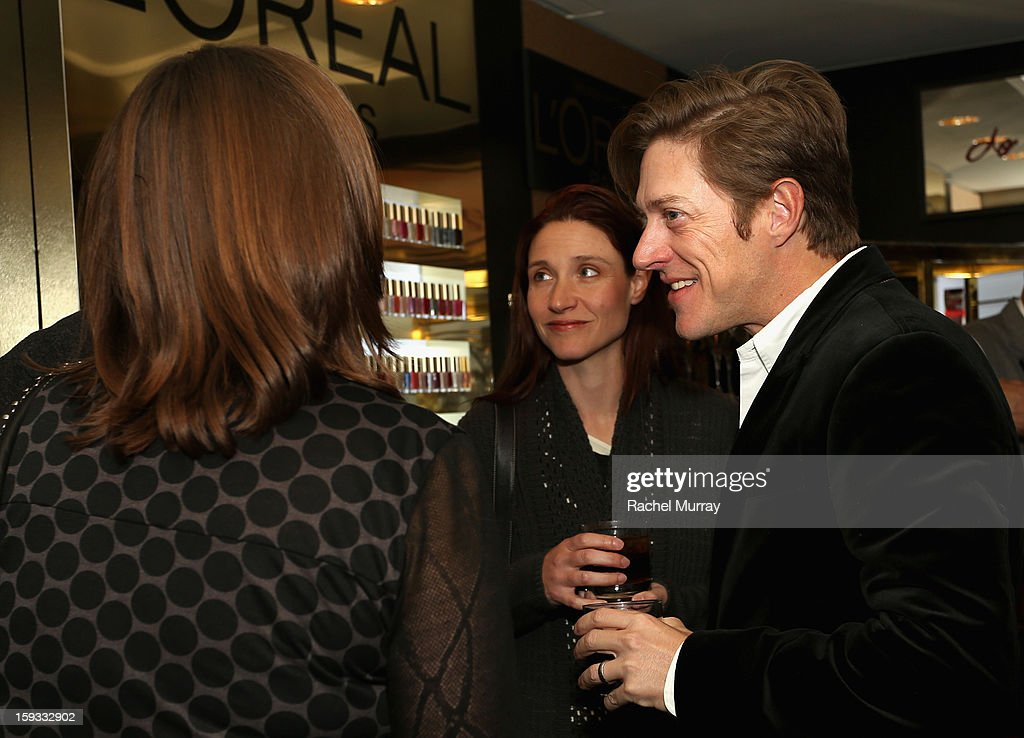 Actor Kevin Rahm attends the L'Oreal cocktail party prior to the HBO Luxury Lounge at Four Seasons Hotel Los Angeles at Beverly Hills on January 11, 2013 in Beverly Hills, California.