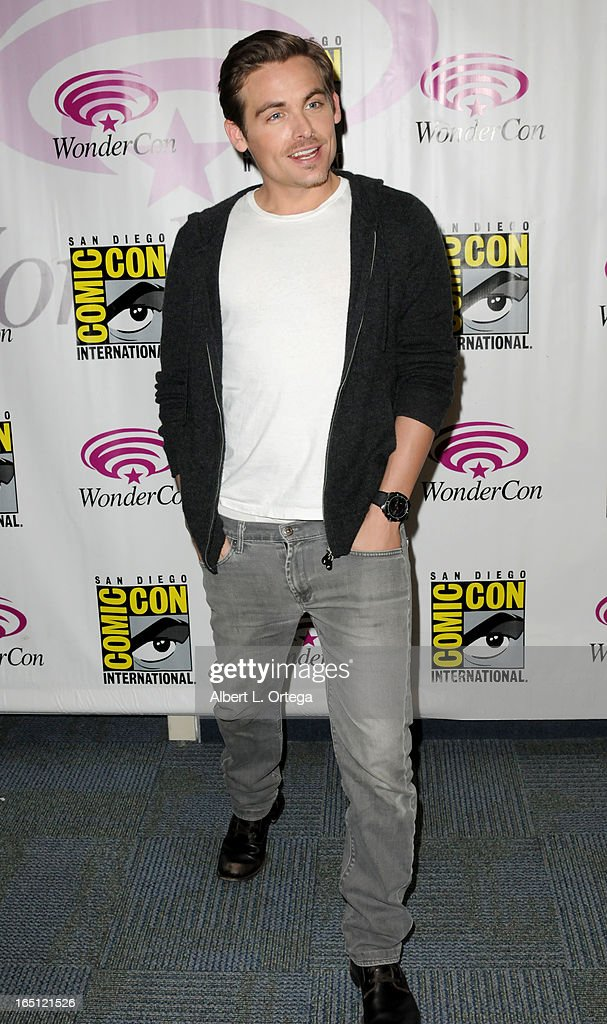 Actor Kevin Segers participates at WonderCon Anaheim 2013 - Day 2 at Anaheim Convention Center on March 30, 2013 in Anaheim, California.