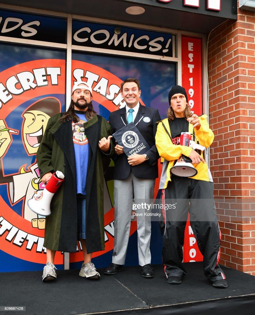 foto u0027s en beelden van comic book men jay and silent bob cosplay