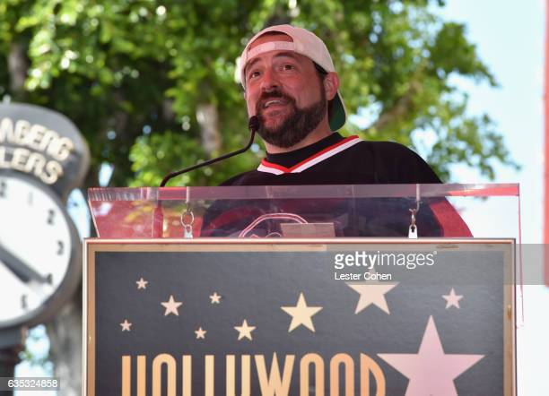 Actor Kevin Smith attends George Segal's star ceremony on the Hollywood Walk of Fame on February 14 2017 in Los Angeles California
