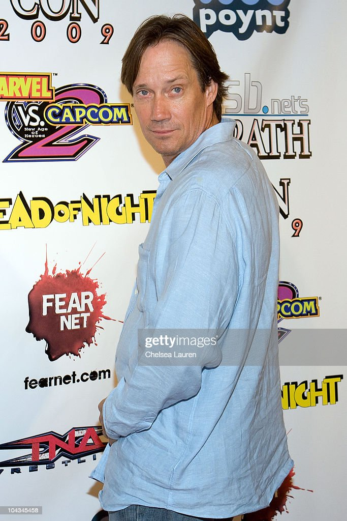 Actor <a gi-track='captionPersonalityLinkClicked' href=/galleries/search?phrase=Kevin+Sorbo&family=editorial&specificpeople=242913 ng-click='$event.stopPropagation()'>Kevin Sorbo</a> attends the 'Wrath of Con' Comic-Con party at Hard Rock Hotel San Diego on July 24, 2009 in San Diego, California.