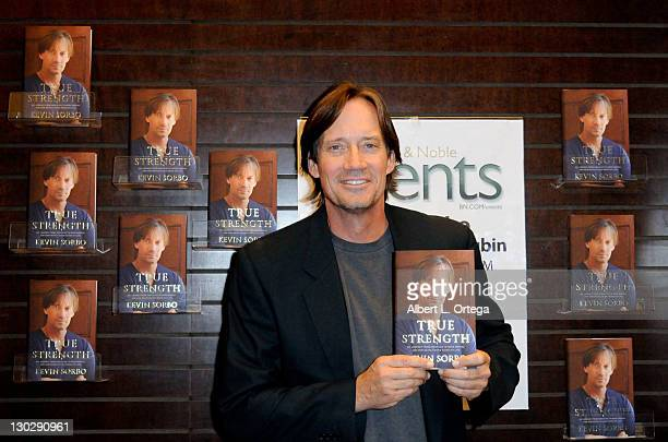 Actor Kevin Sorbo participates in the Kevin Sorbo Book Signing For 'True Strength' held at Barnes Nobles at the Grove on October 25 2011 in Los...