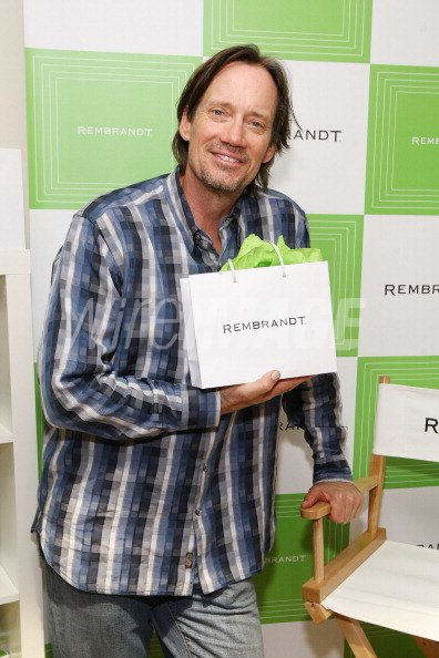 Actor Kevin Sorbo poses with...