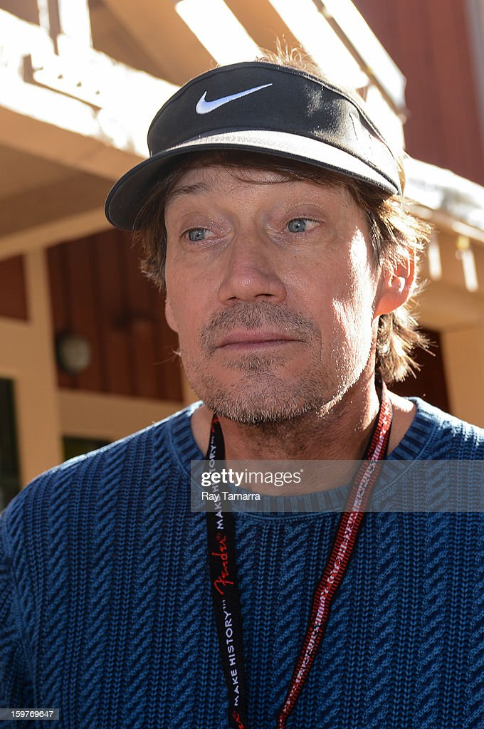 Actor Kevin Sorbo walks in Park City on January 19, 2013 in Park City, Utah.