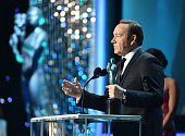 Actor Kevin Spacey accepts the Outstanding Performance by a Male Actor in a Drama Series award for 'House of Cards' onstage during The 22nd Annual...