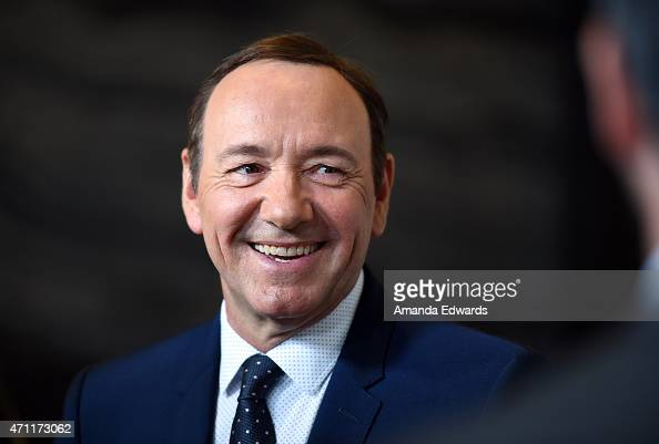 Actor Kevin Spacey arrives at the 4th Annual Reel Stories Real Lives event benefiting the Motion Picture Television Fund at Milk Studios on April 25...