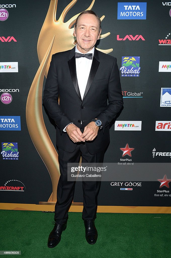 Actor <a gi-track='captionPersonalityLinkClicked' href=/galleries/search?phrase=Kevin+Spacey&family=editorial&specificpeople=202091 ng-click='$event.stopPropagation()'>Kevin Spacey</a> arrives at the IIFA Awards at Raymond James Stadium on April 26, 2014 in Tampa, Florida.