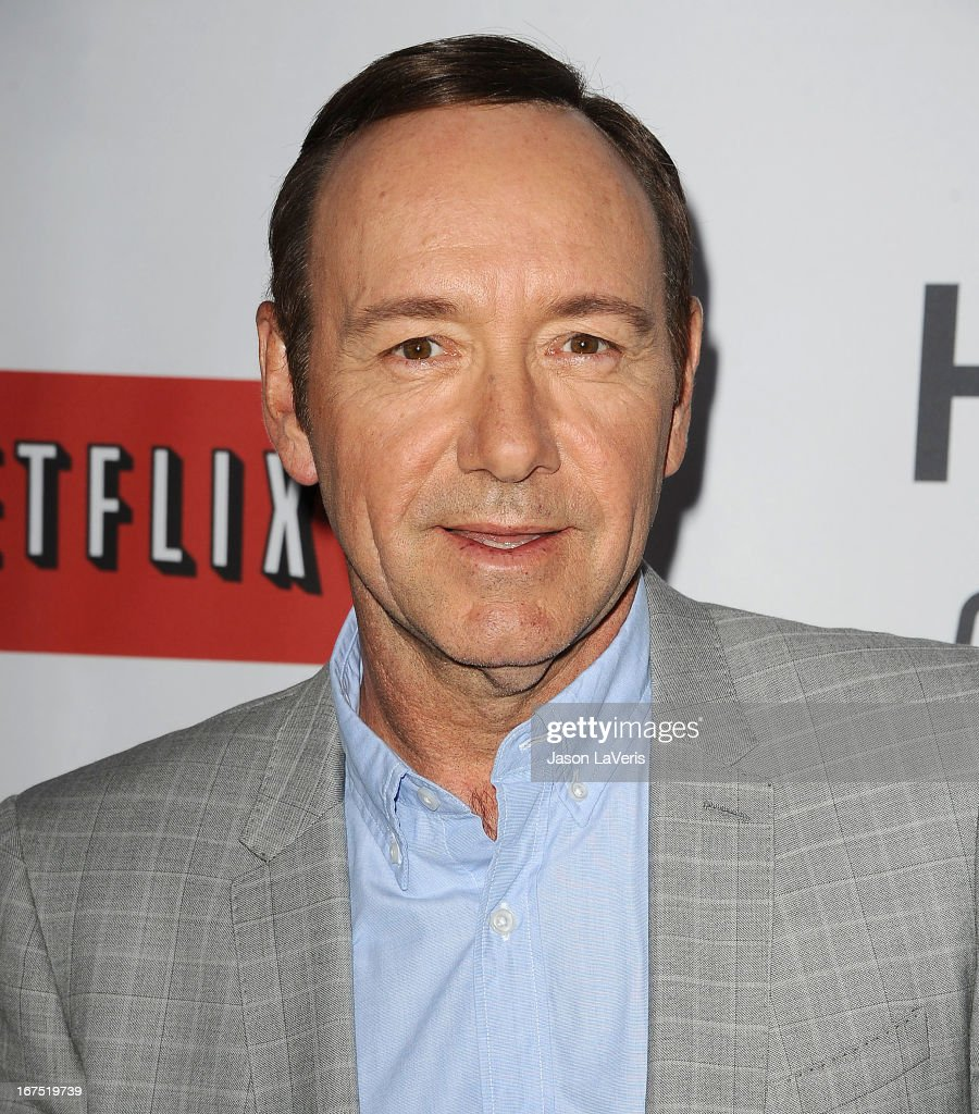 Actor <a gi-track='captionPersonalityLinkClicked' href=/galleries/search?phrase=Kevin+Spacey&family=editorial&specificpeople=202091 ng-click='$event.stopPropagation()'>Kevin Spacey</a> attends a Q&A for 'House Of Cards' at Leonard H. Goldenson Theatre on April 25, 2013 in North Hollywood, California.