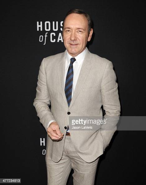 Actor Kevin Spacey attends a screening of 'House Of Cards' at Directors Guild Of America on February 13 2014 in Los Angeles California