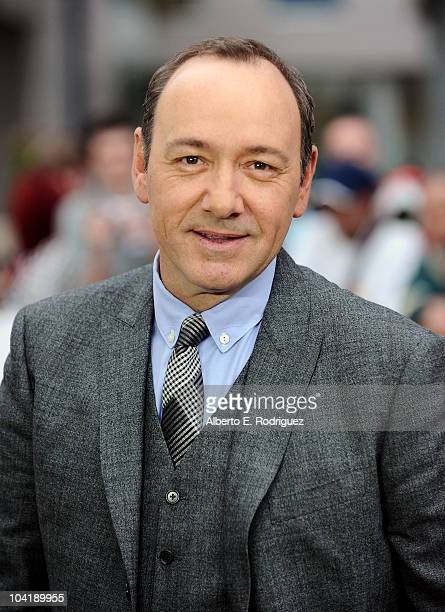 Actor Kevin Spacey attends 'Casino Jack' Premiere during the 35th Toronto International Film Festival at Roy Thomson Hall on September 16 2010 in...