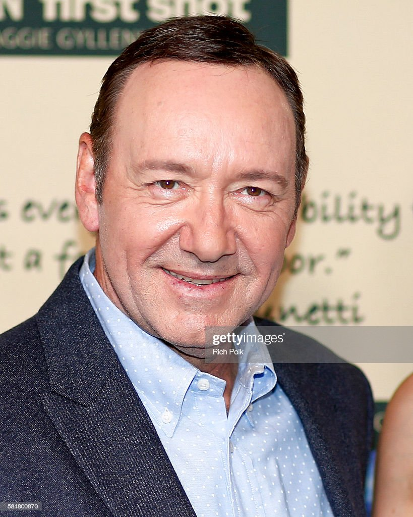 Actor Kevin Spacey attends Jameson's 'First Shot' Competition Screening Party at Paramount Studios on July 30 2016 in Hollywood California