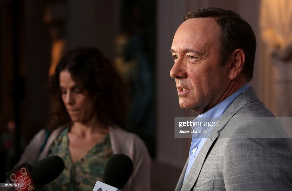 Actor <a gi-track='captionPersonalityLinkClicked' href=/galleries/search?phrase=Kevin+Spacey&family=editorial&specificpeople=202091 ng-click='$event.stopPropagation()'>Kevin Spacey</a> attends Netflix's 'House of Cards' For Your Consideration Q&A on April 25, 2013 at the Leonard H. Goldenson Theatre in North Hollywood, California.