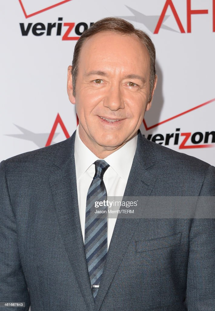 Actor <a gi-track='captionPersonalityLinkClicked' href=/galleries/search?phrase=Kevin+Spacey&family=editorial&specificpeople=202091 ng-click='$event.stopPropagation()'>Kevin Spacey</a> attends the 14th annual AFI Awards Luncheon at the Four Seasons Hotel Beverly Hills on January 10, 2014 in Beverly Hills, California.