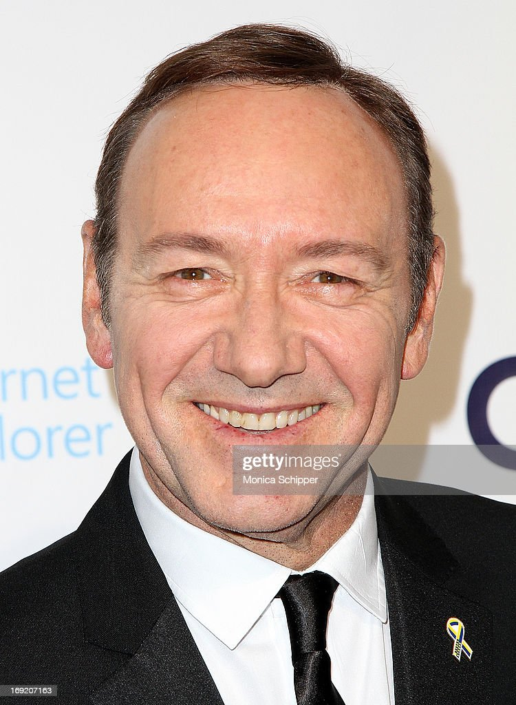 Actor Kevin Spacey attends the 2013 Webby Awards at Cipriani Wall Street on May 21, 2013 in New York City.