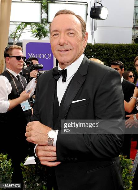 Actor Kevin Spacey attends the 67th Annual Primetime Emmy Awards at Microsoft Theater on September 20 2015 in Los Angeles California