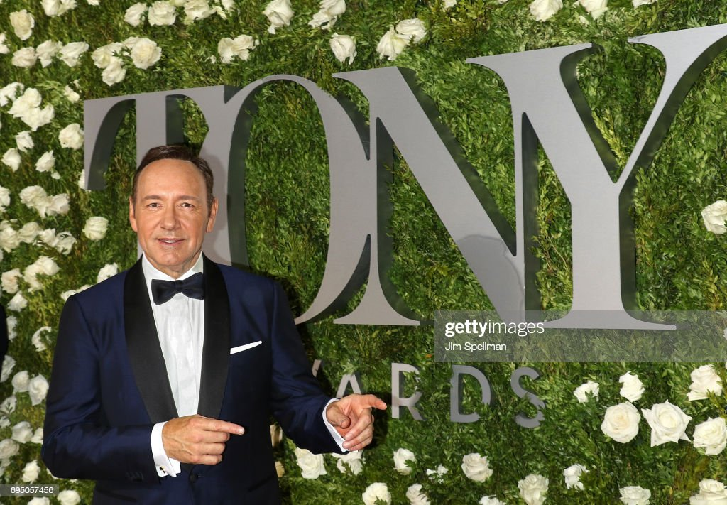 Actor Kevin Spacey attends the 71st Annual Tony Awards at Radio City Music Hall on June 11, 2017 in New York City.