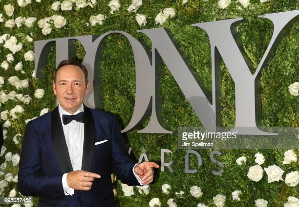 Actor Kevin Spacey attends the 71st Annual Tony Awards at Radio City Music Hall on June 11 2017 in New York City
