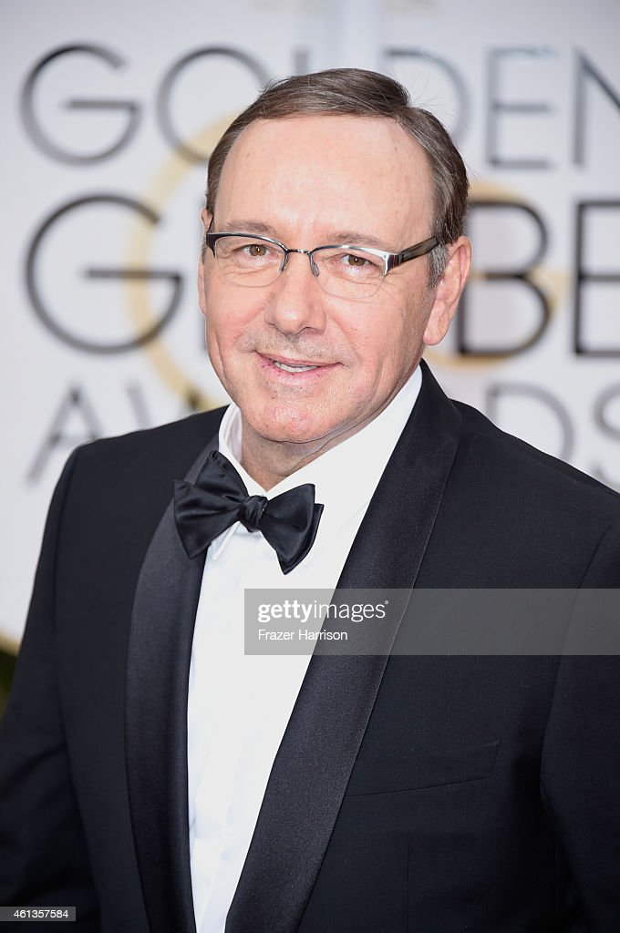 Actor Kevin Spacey attends the 72nd Annual Golden Globe Awards at The Beverly Hilton Hotel on January 11 2015 in Beverly Hills California