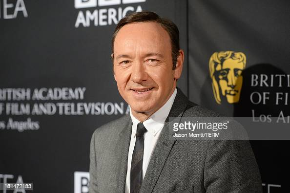 Actor Kevin Spacey attends the BAFTA LA TV Tea 2013 presented by BBC America and Audi held at the SLS Hotel on September 21 2013 in Beverly Hills...