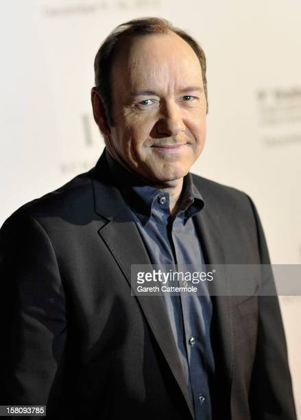 Actor Kevin Spacey attends the Dubai International Film Festival and IWC Schaffhausen Filmmaker Award Gala Dinner and Ceremony at the One and Only...