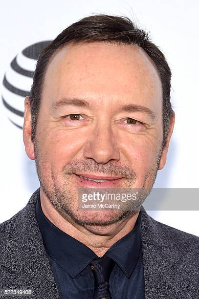 Actor Kevin Spacey attends the 'Elvis Nixon' Premiere during the 2016 Tribeca Film Festival at BMCC John Zuccotti Theater on April 18 2016 in New...