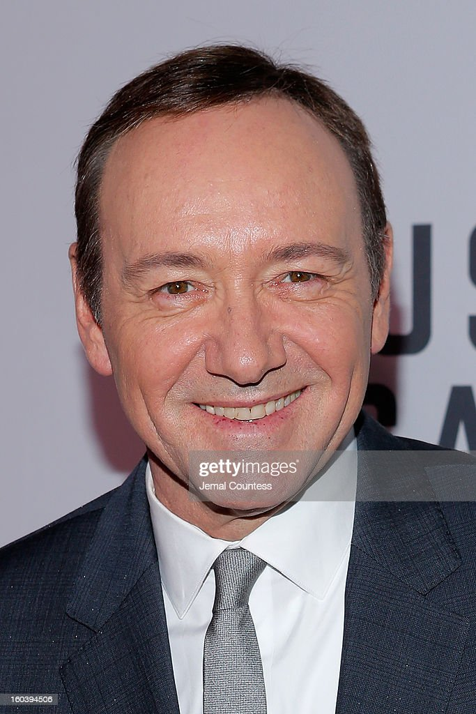 Actor <a gi-track='captionPersonalityLinkClicked' href=/galleries/search?phrase=Kevin+Spacey&family=editorial&specificpeople=202091 ng-click='$event.stopPropagation()'>Kevin Spacey</a> attends the Netflix's 'House Of Cards' New York Premiere at Alice Tully Hall on January 30, 2013 in New York City.