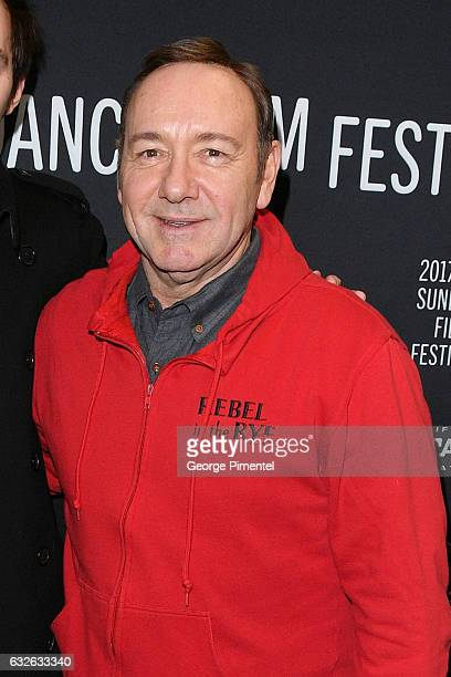 Actor Kevin Spacey attends the 'Rebel In The Rye' Premiere at Eccles Center Theatre on January 24 2017 in Park City Utah