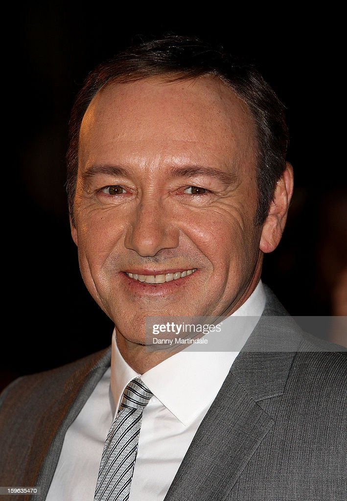 Actor <a gi-track='captionPersonalityLinkClicked' href=/galleries/search?phrase=Kevin+Spacey&family=editorial&specificpeople=202091 ng-click='$event.stopPropagation()'>Kevin Spacey</a> attends the red carpet premiere for the launch of Netflix Original Series, House of Cards on January 17, 2013 in London, United Kingdom.