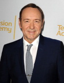 Actor Kevin Spacey attends the Television Academy's performers peer group celebrating the 66th Emmy Awards at Montage Beverly Hills on July 28 2014...