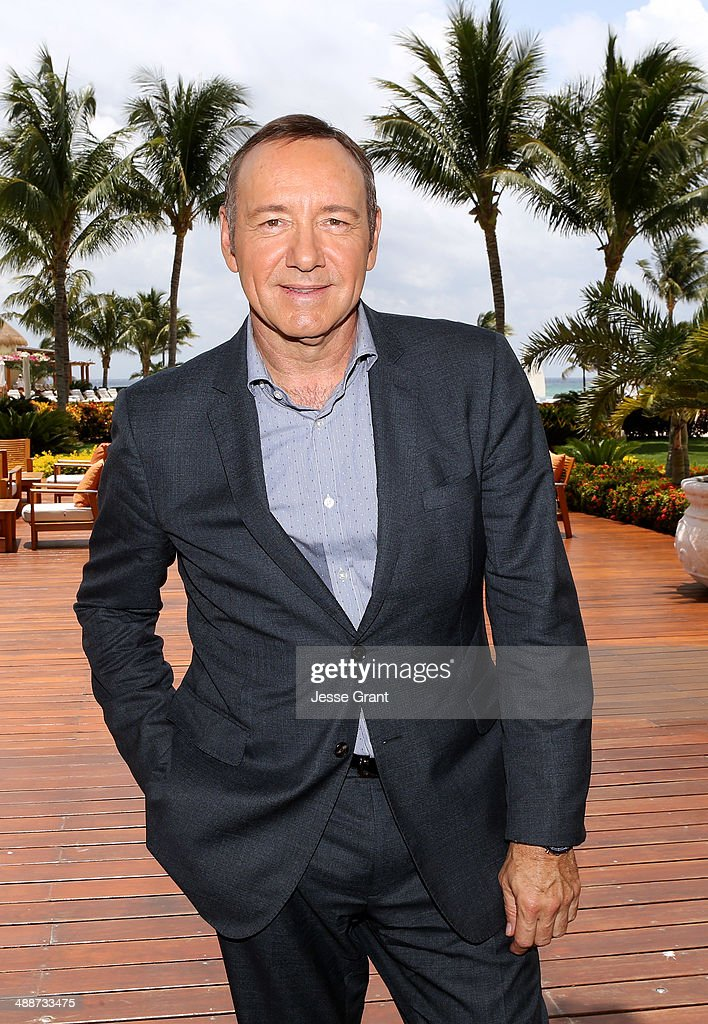 Actor Kevin Spacey attends Tianguis Turistico Mexico 2014 Spacey captivated the crowd with his stories about his love of travel his career and his...