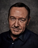 Actor Kevin Spacey is photographed for Back Stage on April 22 in New York City