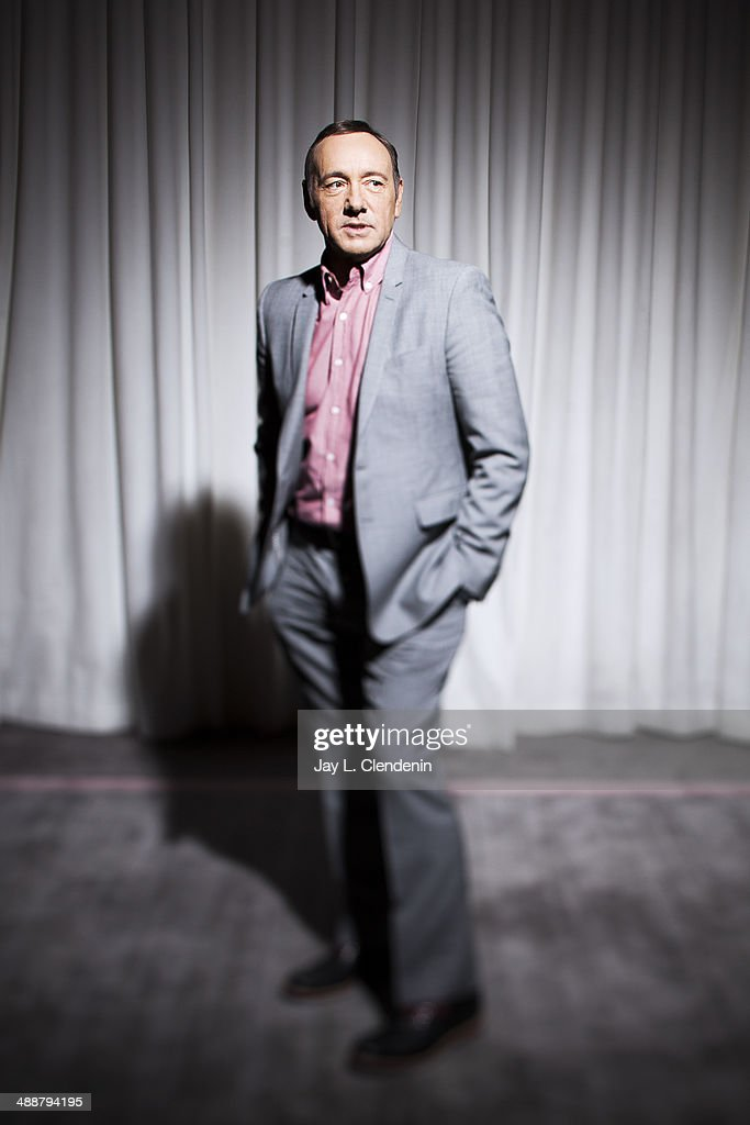 Actor Kevin Spacey is photographed for Los Angeles Times on April 29, 2014 in Beverly Hills, California. PUBLISHED IMAGE.
