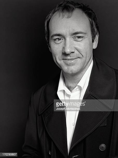 Actor Kevin Spacey is photographed for Telegraph Magazine on May 26 1997 in Los Angeles California