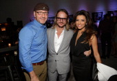 Actor Kevin Spacey Photographer Randall Slavin and Actress Eva Longoria attend Moments In Motion An Exclusive Unveiling Of Never Before Seen Photos...