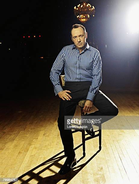 Actor Kevin Spacey poses for a portrait shoot on October 1 2004 in London