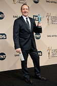 Actor Kevin Spacey winner of the Outstanding Performance by a Male Actor in a Drama Series award for 'House of Cards' poses in the press room during...
