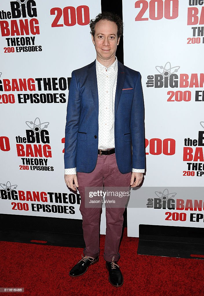 Actor Kevin Sussman attends 'The Big Bang Theory' 200th episode celebration at Vibiana on February 20 2016 in Los Angeles California