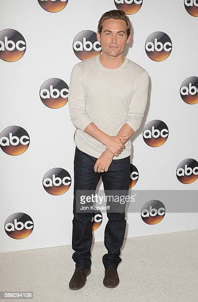 Actor Kevin Zegers arrives at Disney ABC Television Group Hosts TCA Summer Press Tour at the Beverly Hilton Hotel on August 4 2016 in Beverly Hills...