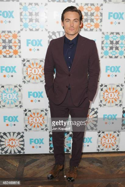 Actor Kevin Zegers arrives at the FOX AllStar Party 2014 Television Critics Association Summer Press Tour at Soho House on July 20 2014 in West...