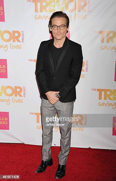 Actor Kevin Zegers arrives at TrevorLIVE Los Angeles at Hollywood Palladium on December 7 2014 in Los Angeles California