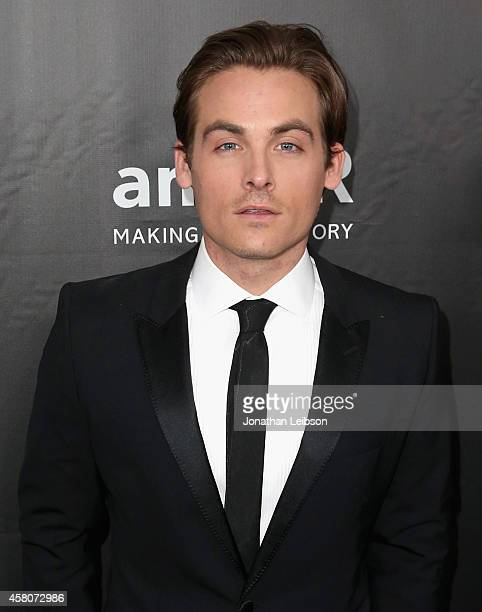 Actor Kevin Zegers attends amfAR LA Inspiration Gala honoring Tom Ford at Milk Studios on October 29 2014 in Hollywood California