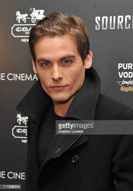 Actor Kevin Zegers attends the Cinema Society Coach screeing of 'Source Code' at the Crosby Street Hotel on March 31 2011 in New York City