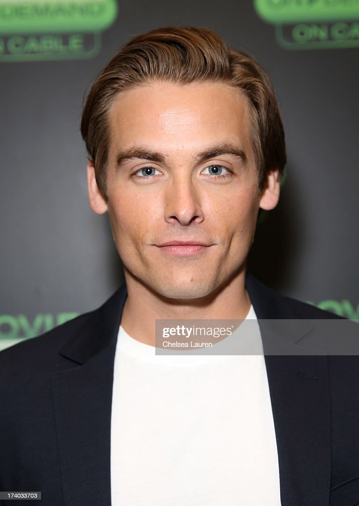 Actor <a gi-track='captionPersonalityLinkClicked' href=/galleries/search?phrase=Kevin+Zegers&family=editorial&specificpeople=622283 ng-click='$event.stopPropagation()'>Kevin Zegers</a> attends 'The Colony' at The Movies On Demand Lounge during Comic-Con International 2013 at Hard Rock Hotel San Diego on July 19, 2013 in San Diego, California.