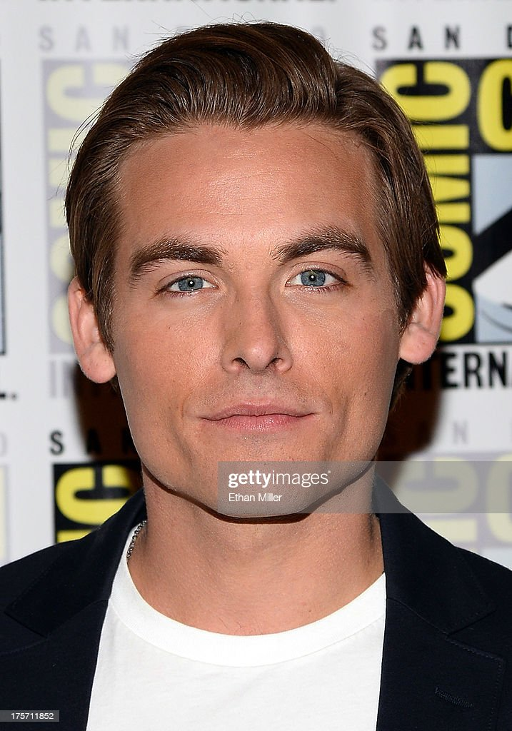 Actor Kevin Zegers attends 'The Mortal Instruments: City of Bones' press line at the Hilton San Diego Bayfront Hotel on July 19, 2013 in San Diego, California.