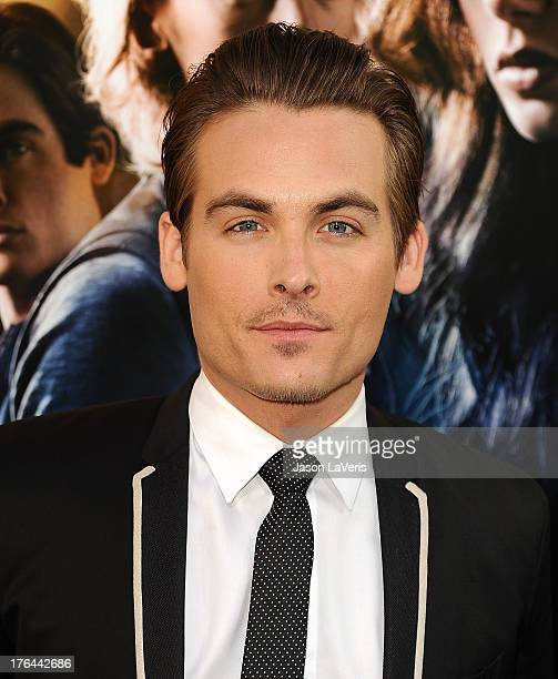 Actor Kevin Zegers attends the premiere of 'The Mortal Instruments City Of Bones' at ArcLight Cinemas Cinerama Dome on August 12 2013 in Hollywood...