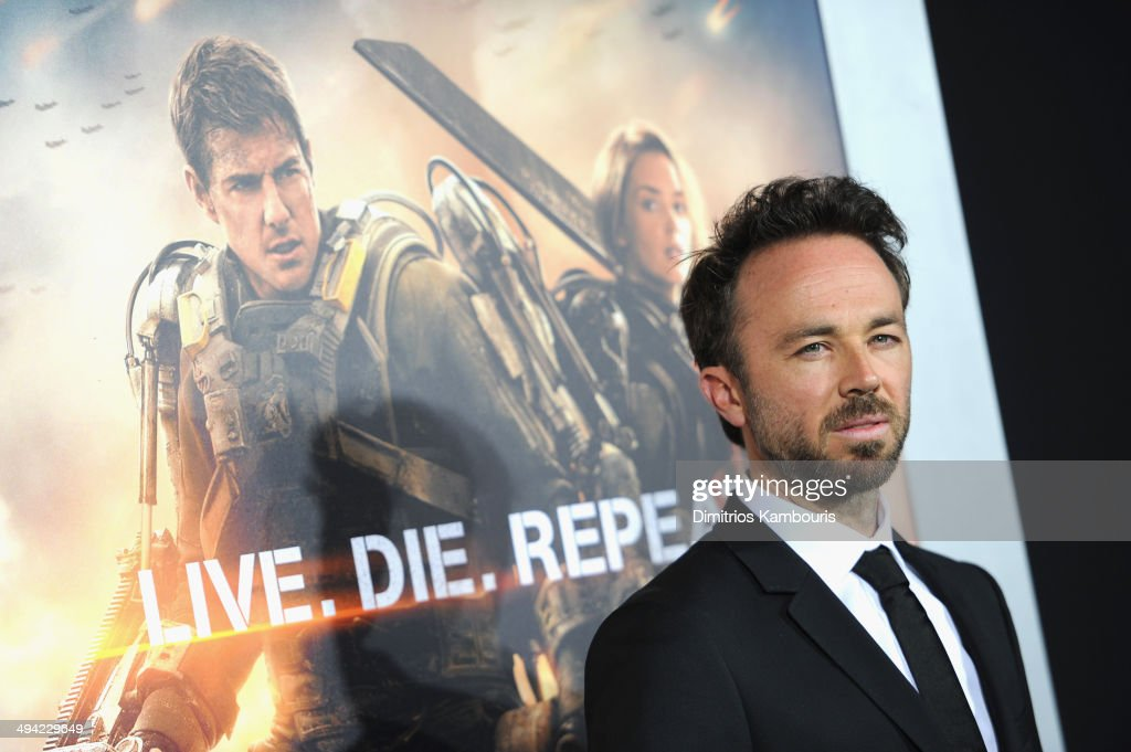 Actor <a gi-track='captionPersonalityLinkClicked' href=/galleries/search?phrase=Kick+Gurry&family=editorial&specificpeople=2264542 ng-click='$event.stopPropagation()'>Kick Gurry</a> attends the 'Edge Of Tomorrow' red carpet repeat fan premiere tour at AMC Loews Lincoln Square on May 28, 2014 in New York City.